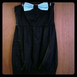 NWOT Sweet Love Blue Bow Pinup Dress